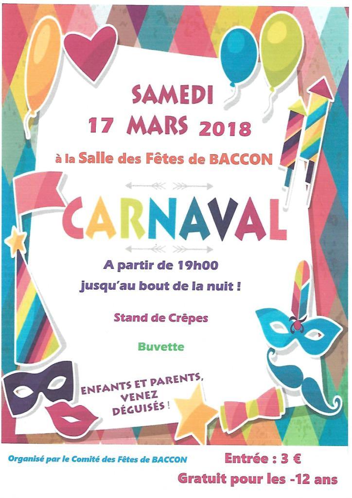 Affiche carnaval cfb 1