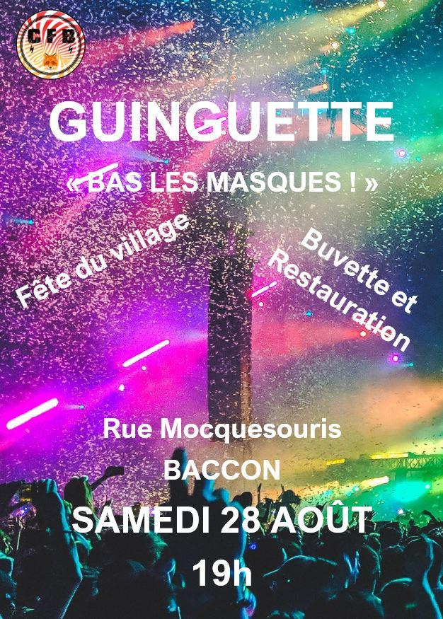 Affiche guinguette 2021